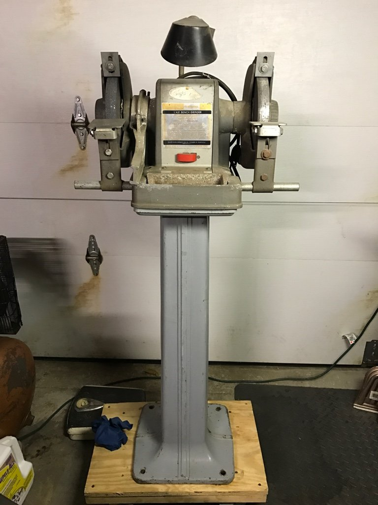Show us Your Vintage Bench Grinders!!!! [Archive] - Page 6 - The Garage  Journal Board