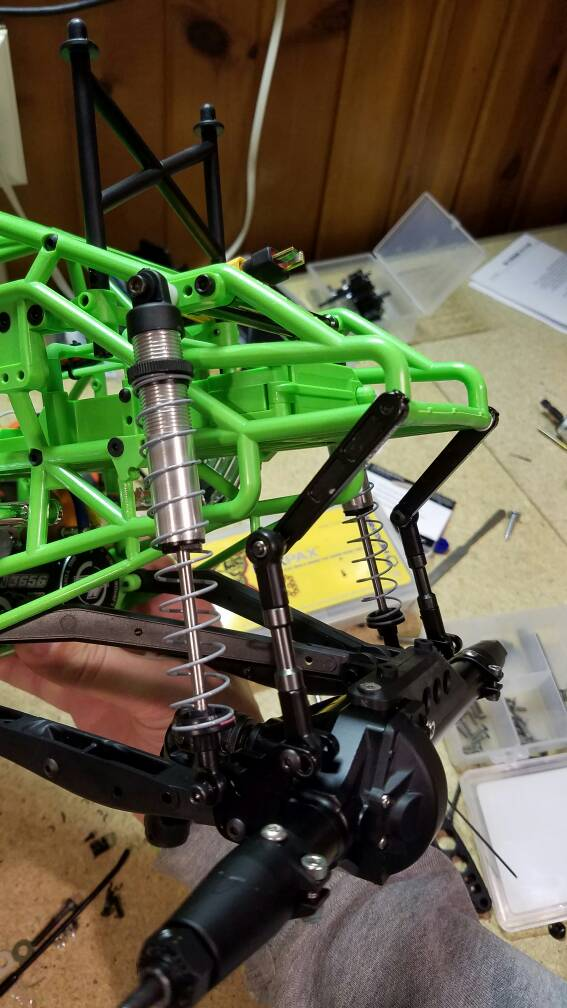 Sway Bar End Links >> RCCrawler Forums - SMT10 sway bar relocation