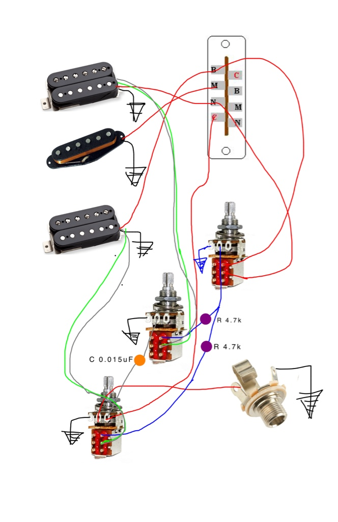 Lindy Fralin partial tap kit How to install – Lindy Fralin Pickups Wiring-diagram