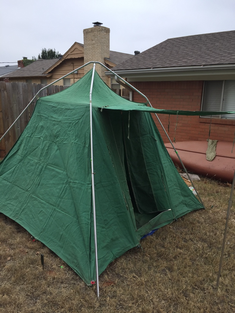 Sent from my iPhone using Tapatalk & Vintage canvas tent garage sale find part 2 | Bushcraft USA Forums
