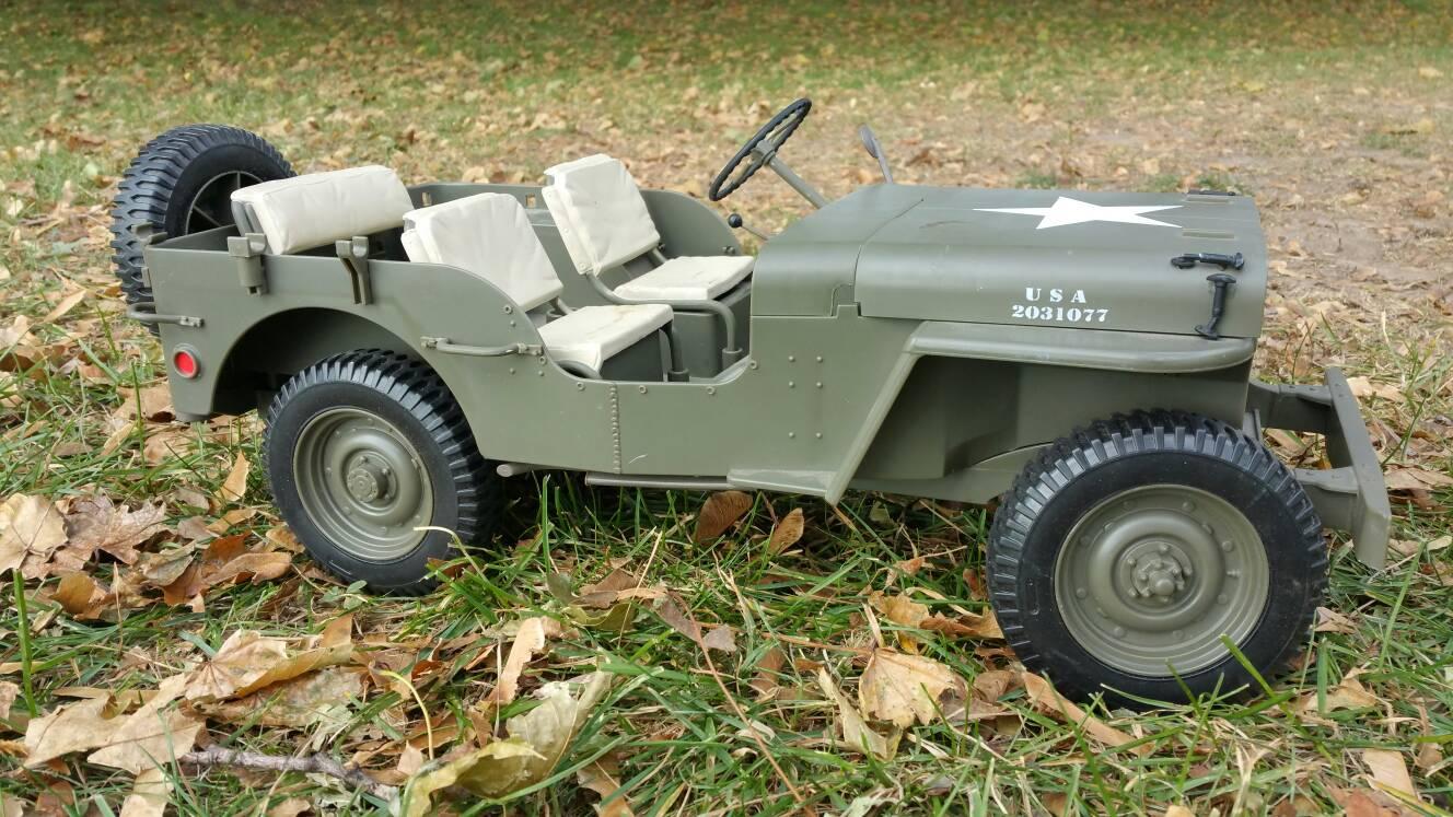 1/6 Jeep Willys Body - RCCrawler