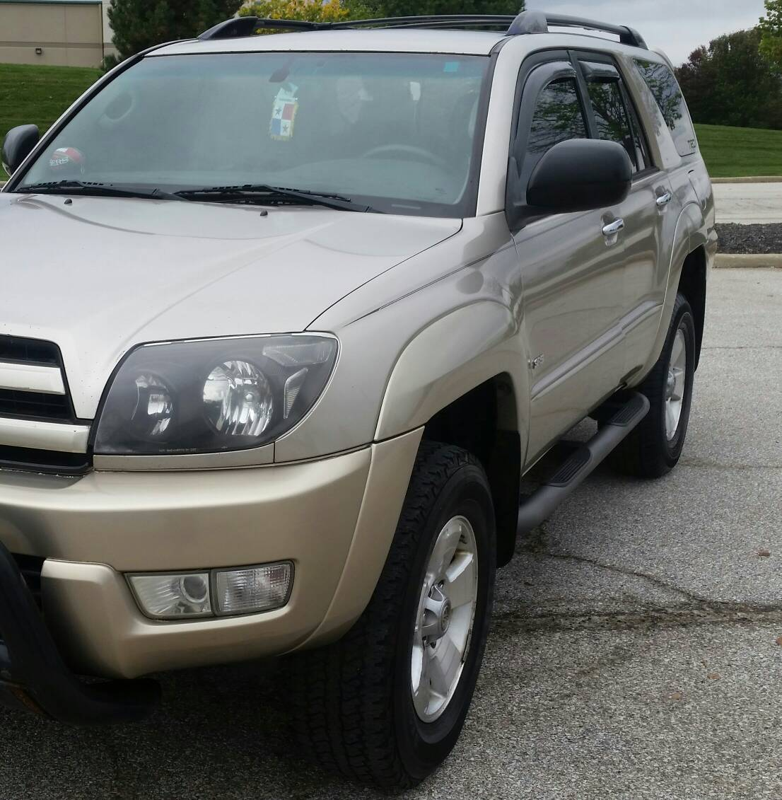 Toyota Highlander Used Mn: Pic Request: Sport Edition Nerf Bars/running Boards On Non