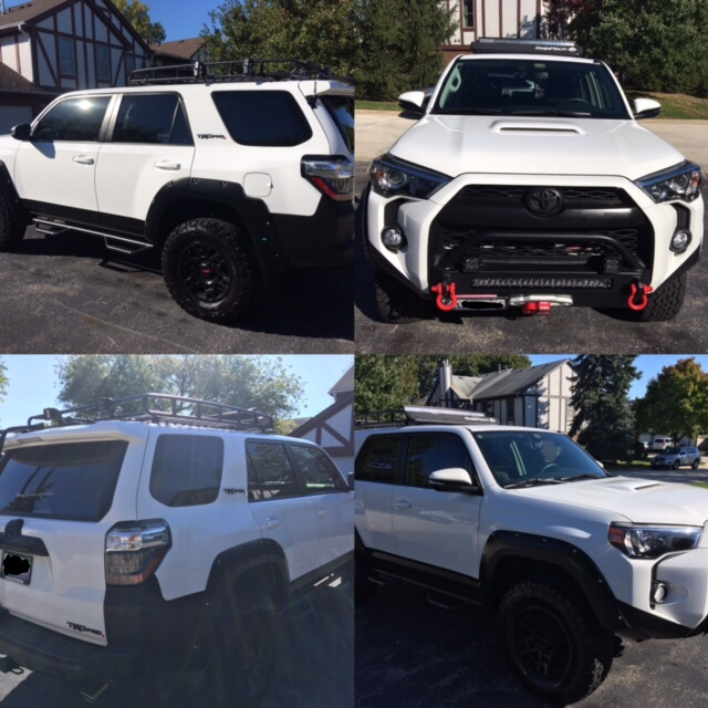 Toyota 4runner For Sale In Chicago: Where Is Everyone Mounting Their Winch Control Pack