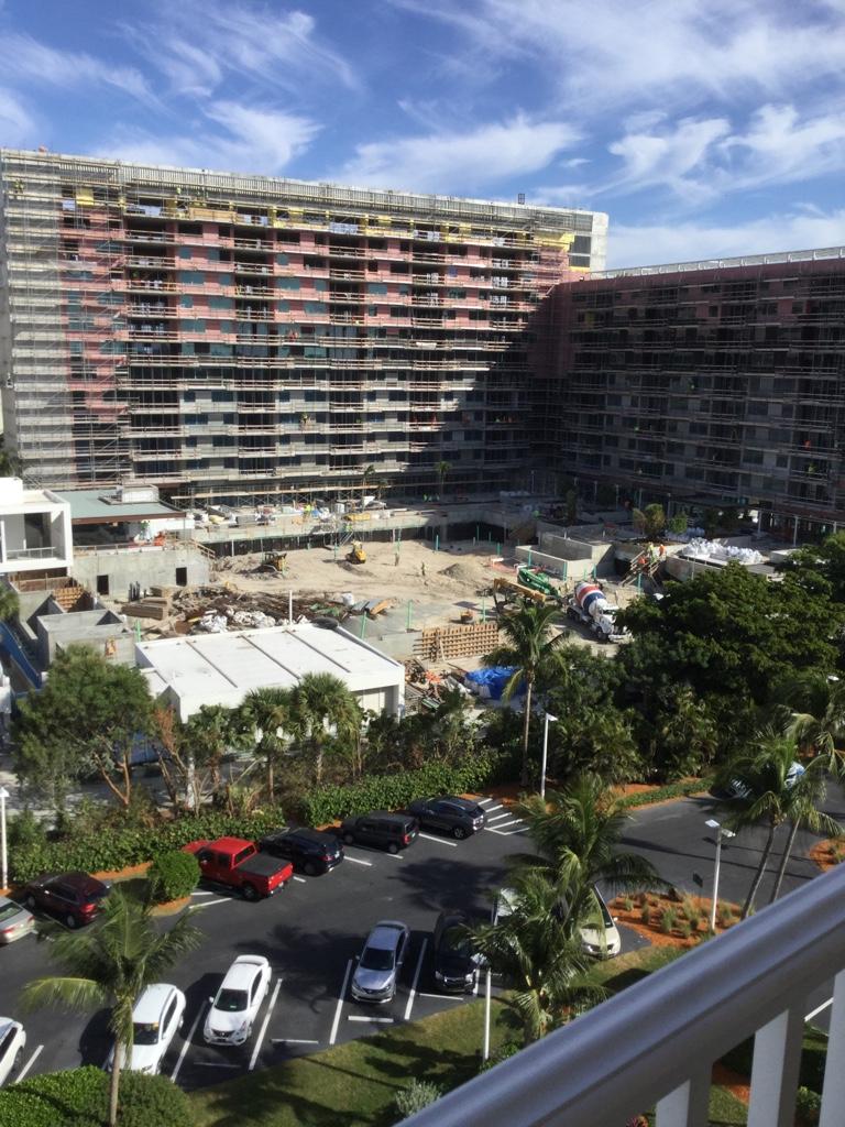 Marriott Crystal Shores Marco Island Construction