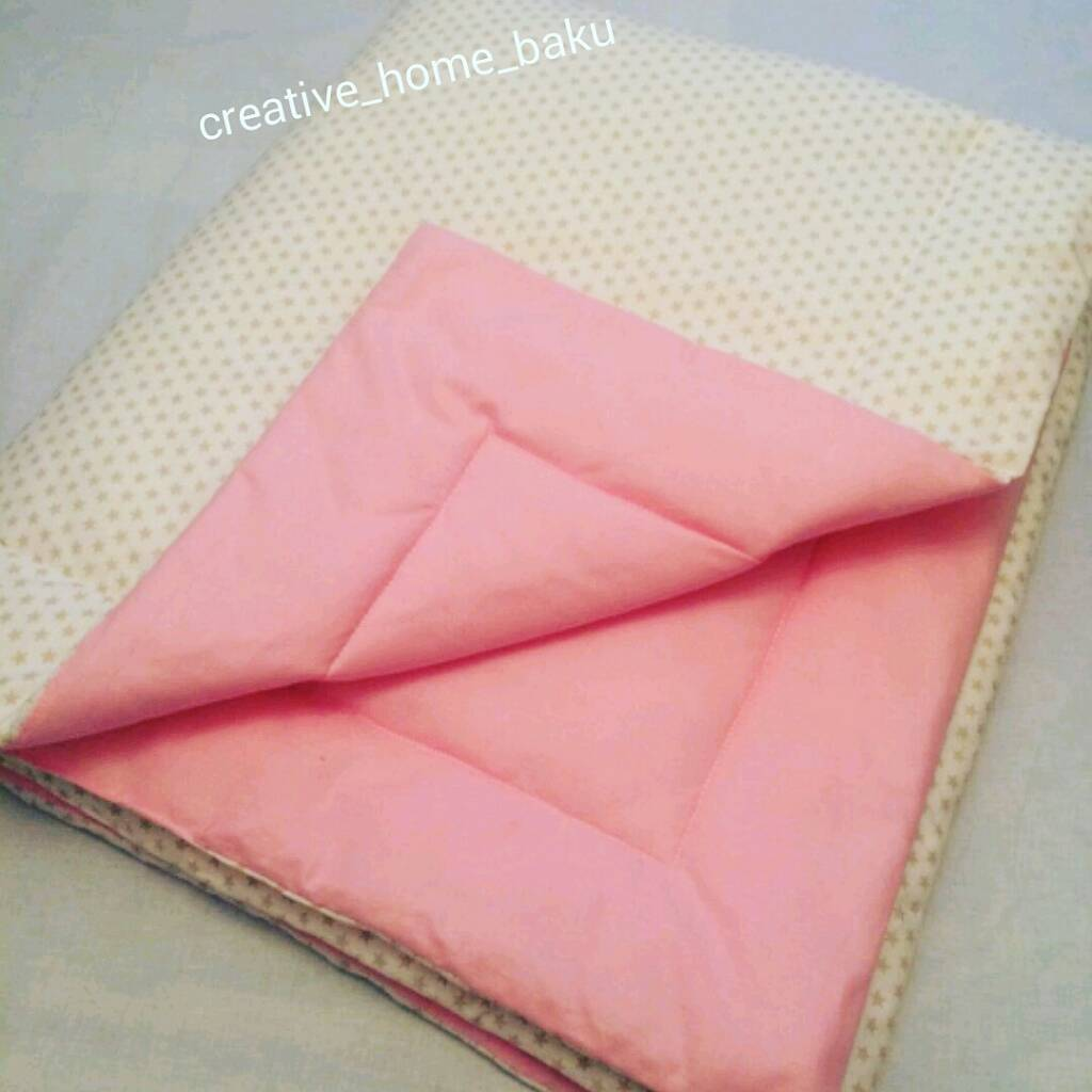 Как сшить одеяло на синтепоне для новорожденного 87