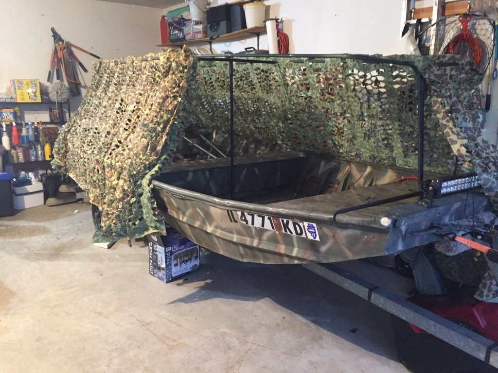 Boat Blind Is Your Top Open Or Closed Waterfowl