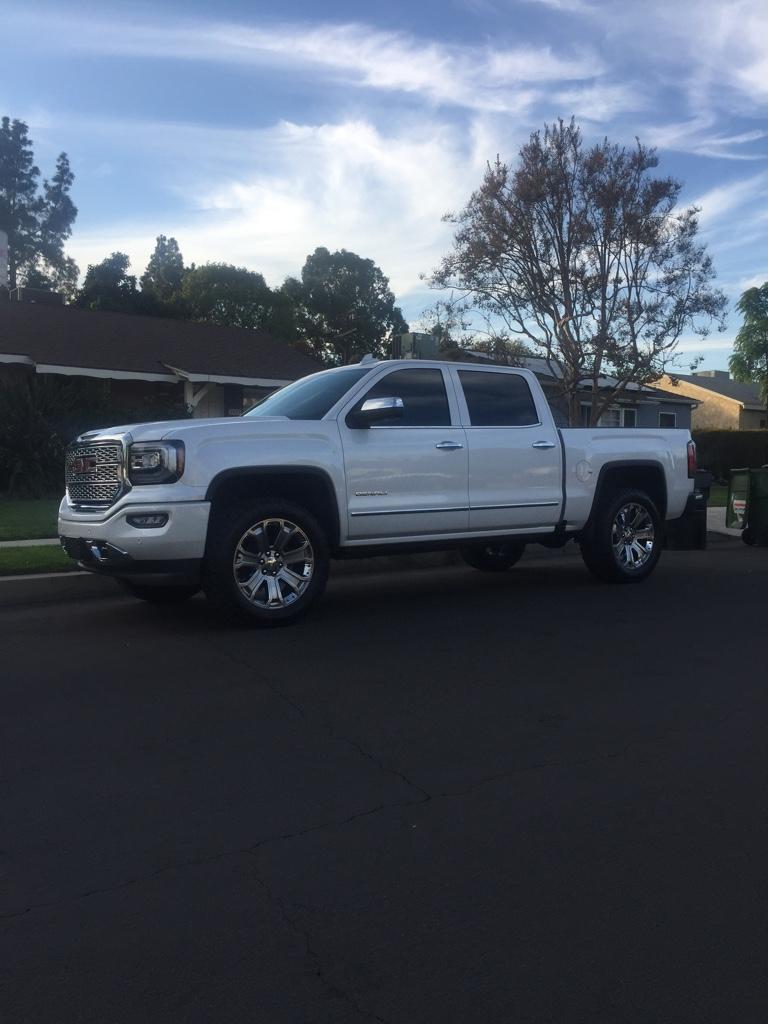 2017 Sierra leveling kit help | Chevy Truck Forum | GMC Truck Forum - GmFullsize.com