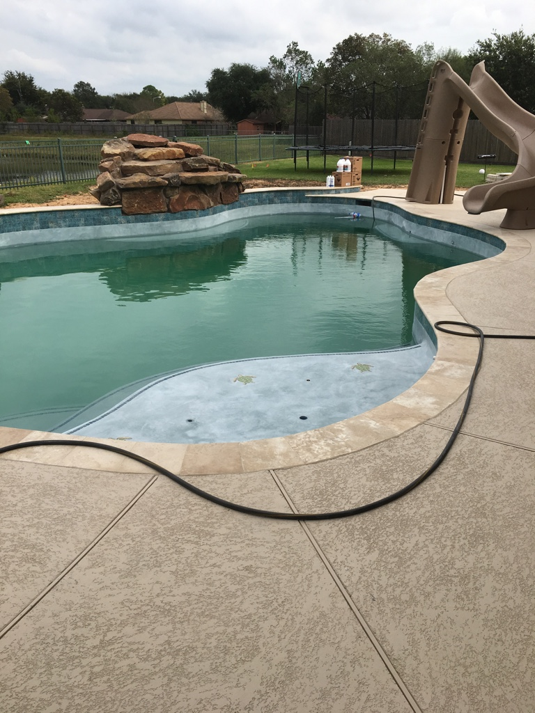 Have Contract Just Need To Sign Pool Build Pearland