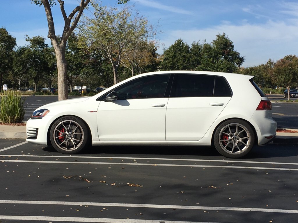 fs neuspeed sport springs mk7 gti or tsi sf bay area golfmk7 vw gti mkvii forum vw golf. Black Bedroom Furniture Sets. Home Design Ideas
