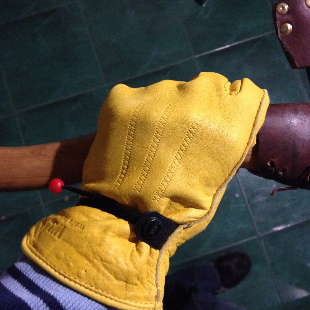 Leather work gloves screwfix - Receive My Gloves Love The Feel Of It Perfect Fit But Is It Just Me Or It S Too Soft Well We Will See How It Will Hold Up After Time