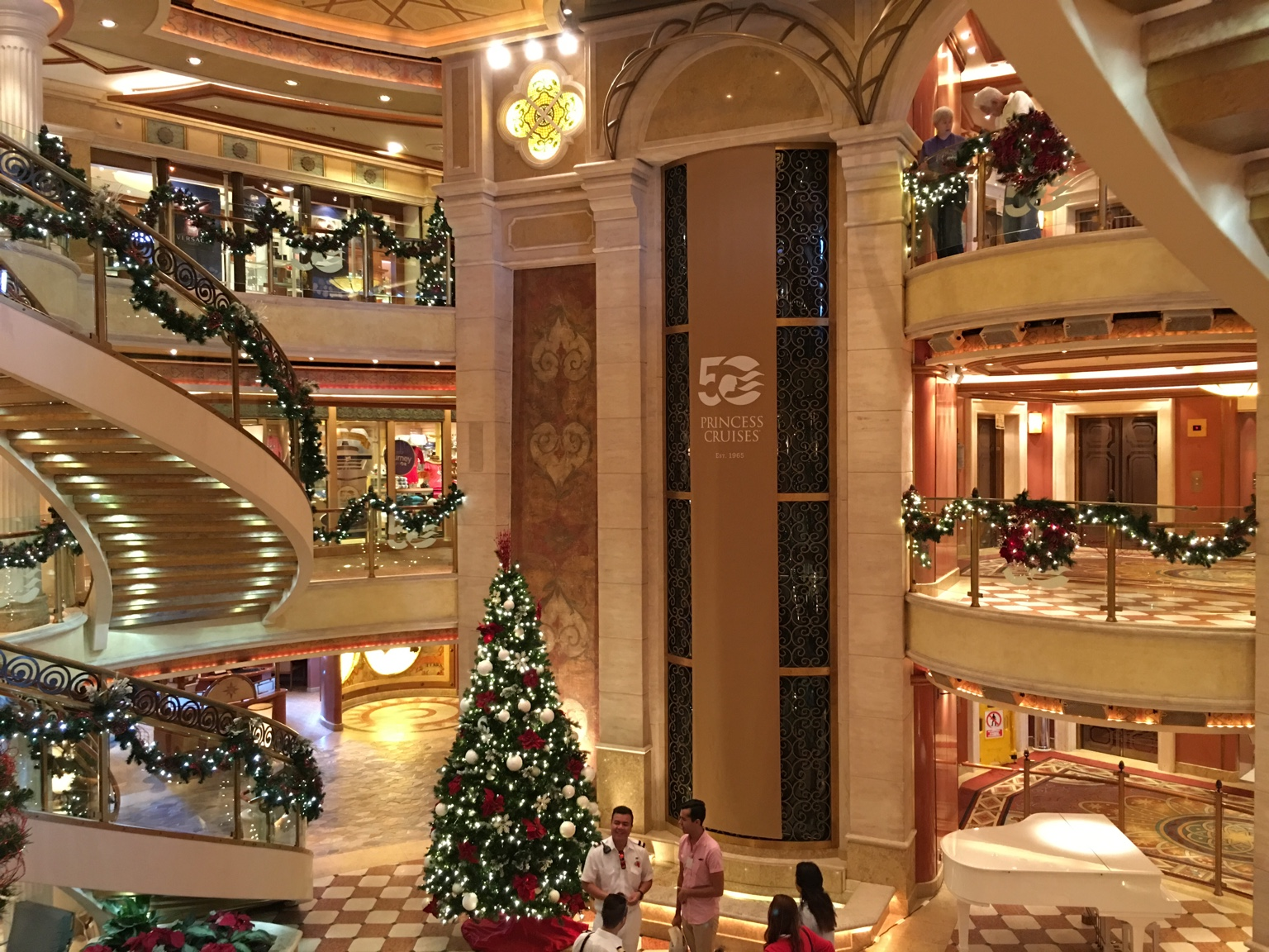 Image result for images of christmas on sapphire princess cruise ship