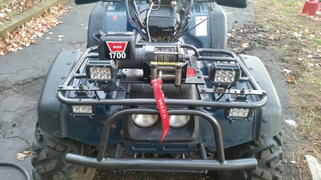 LT-4WD Winch Installation - Suzuki ATV Forum