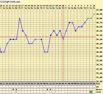 8dpo have a temp drop below cover line??? | Netmums