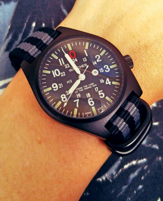 Show Me Your BOND Nato With Watch