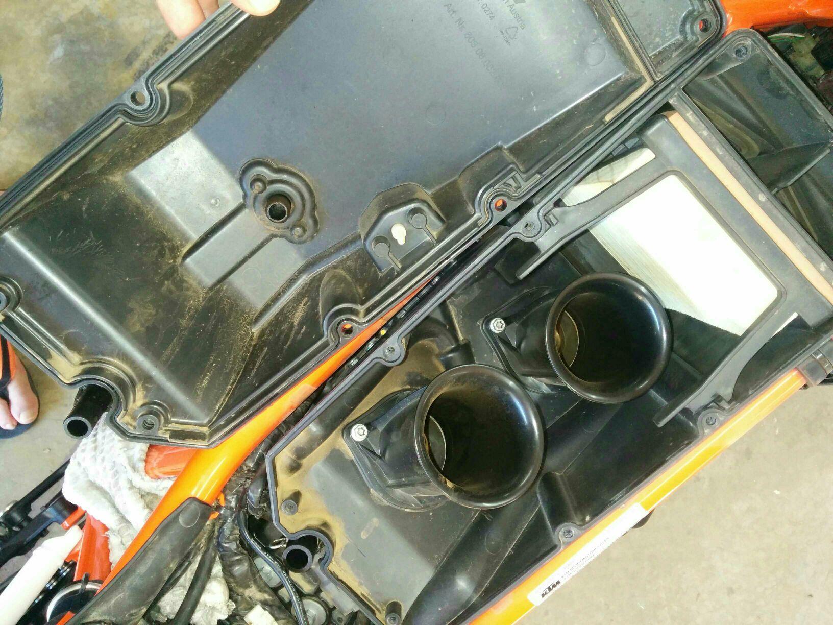 Cold start problem - totaly stock bike 2014 R - KTM Super Twins Forum