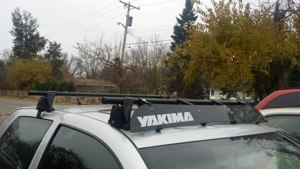 $300. For Sale Yakima Roof Rack Comes With Keys