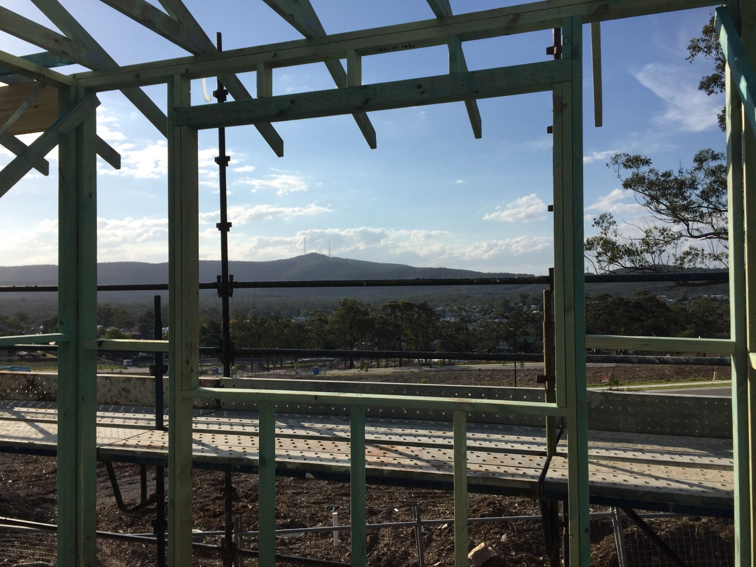View: Williams Designer Homes build, West Wallsend NSW - Moved In