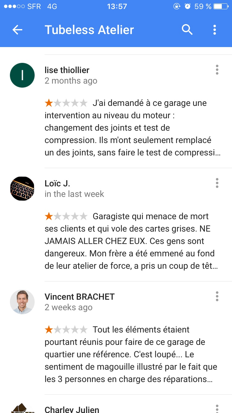 Litige garage moto vos news au quotidien for Garage moto courbevoie