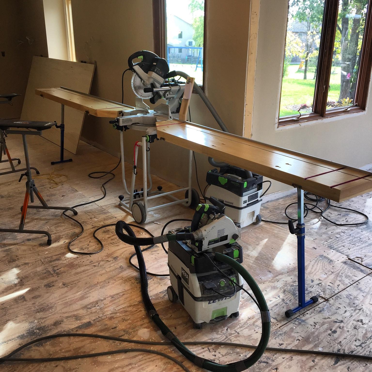 kapex ks 120 miter saw tools equipment contractor talk. Black Bedroom Furniture Sets. Home Design Ideas