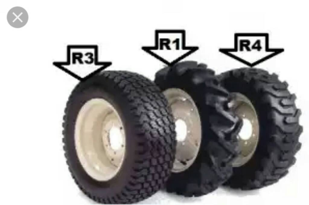 Kubota Tractor Tires R4 : Tires r