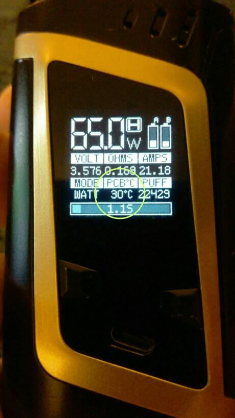 Smok Alien Celsius to Fahrenheit in watt mode   Vaping