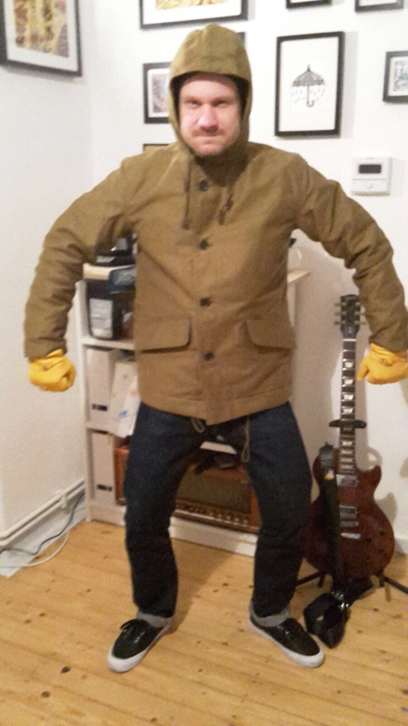 fd684e1535e ... Khaki Alpaca Lined Whipcord N1 Deck Half-Coat. « Reply  37 on  November  23