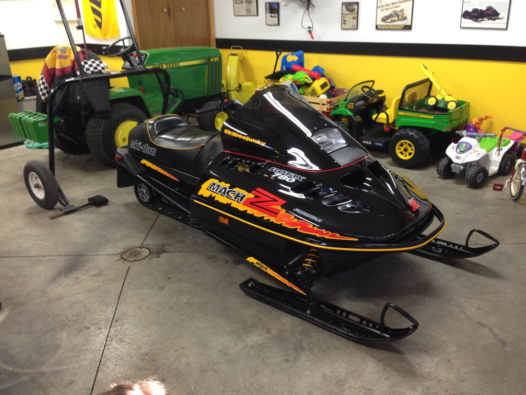 F chassis time - Page 3 - Vintage Ski Doo's - DOOTalk Forums