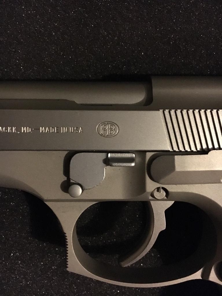 Beretta 92  Italian or American made? - Calguns net