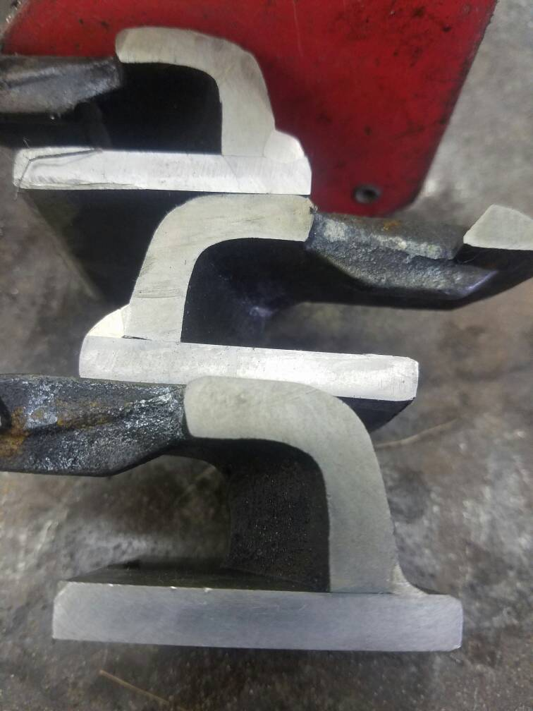 Miller Spectrum 375 >> Various attempts to join cast iron to mild steel plate