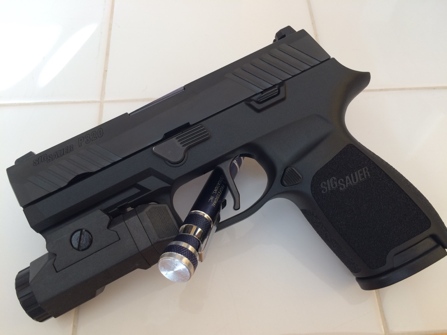 Tactical Light On Your P320 P250 Page 2 Sig Talk