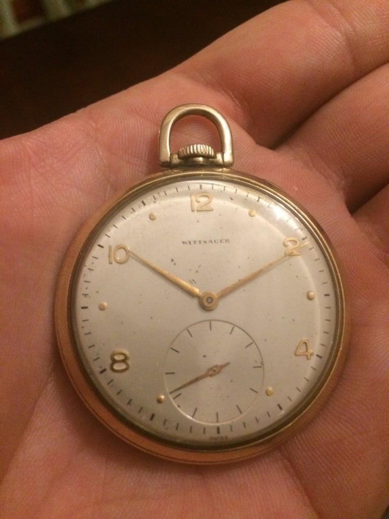 wittnauer pocketwatch 89