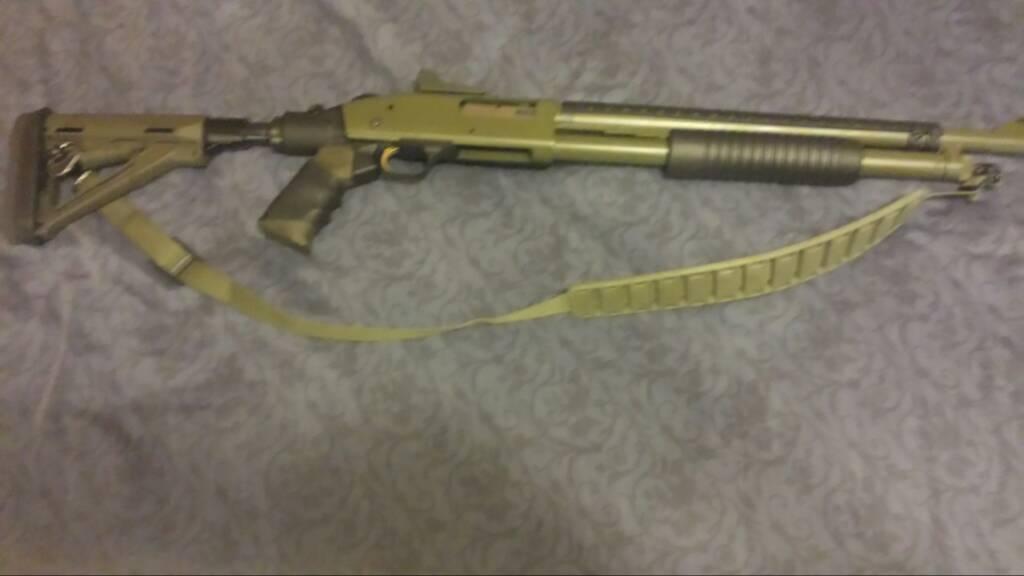 My mossberg 500 - Remington 870 Forum - Rem870 com/Forum
