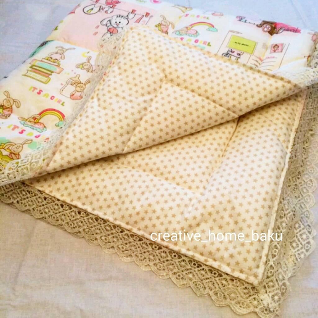 Как сшить одеяло на синтепоне для новорожденного 70