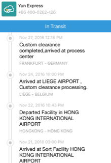 Experiences with Yun Express? - Replica Watch Info