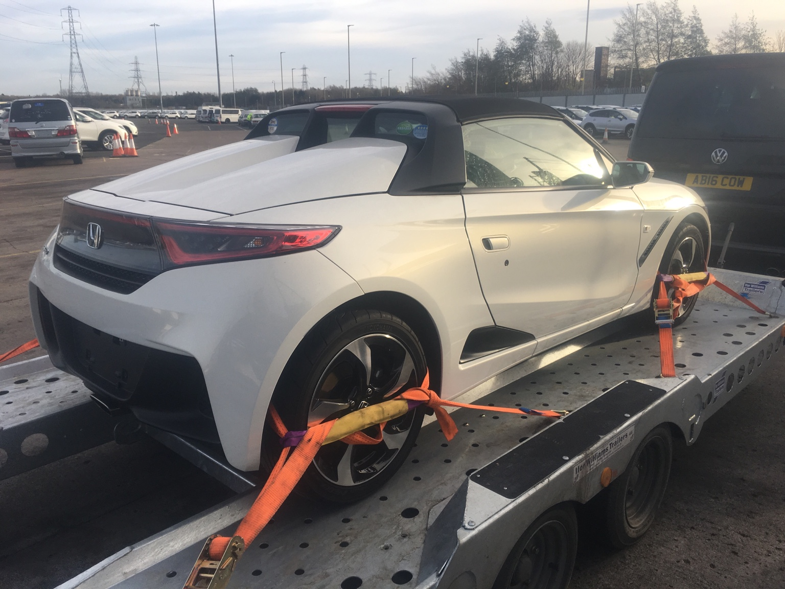 I believe this is the first honda s660 in u k if not europe thank you