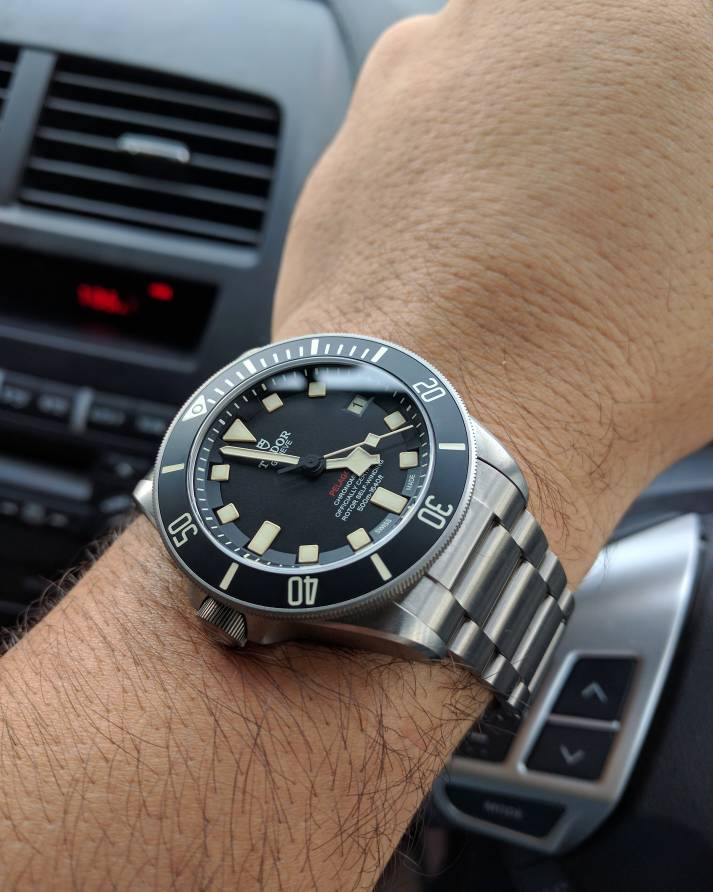 tudor pelagos lhd ref 25610tnl owner 39 s thread. Black Bedroom Furniture Sets. Home Design Ideas