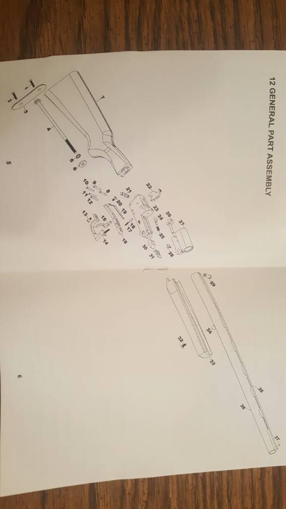 Hatfield Sas 12 Gauge Parts Diagram