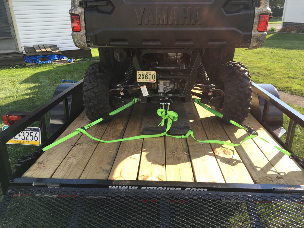 Chains Or Ratchet Straps When Trailering Page 3