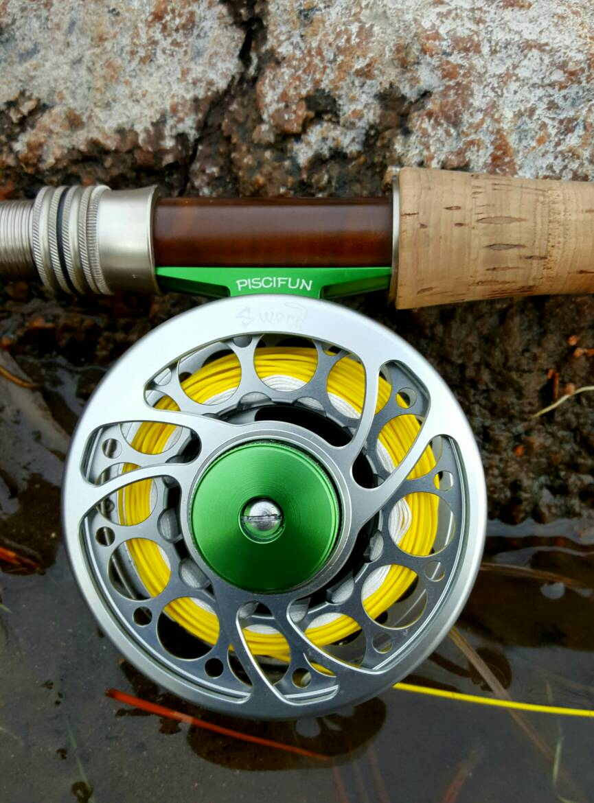Piscifun sword fly reel top 3 fly reels on amazon for Amazon fishing reels