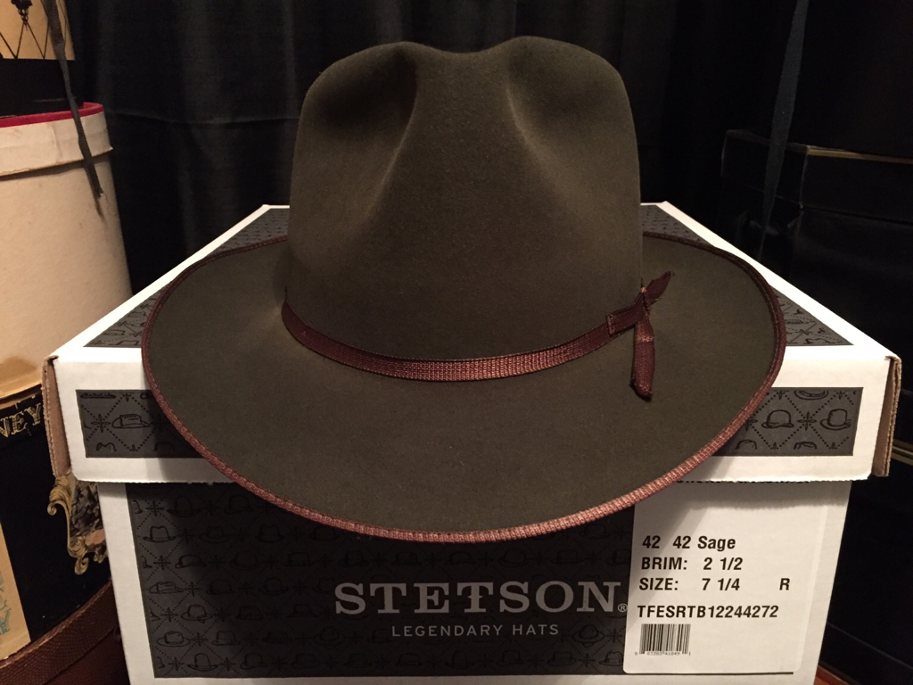 Stetson Excellent Stratoliner in Sage 7 1 4  8f40265374b