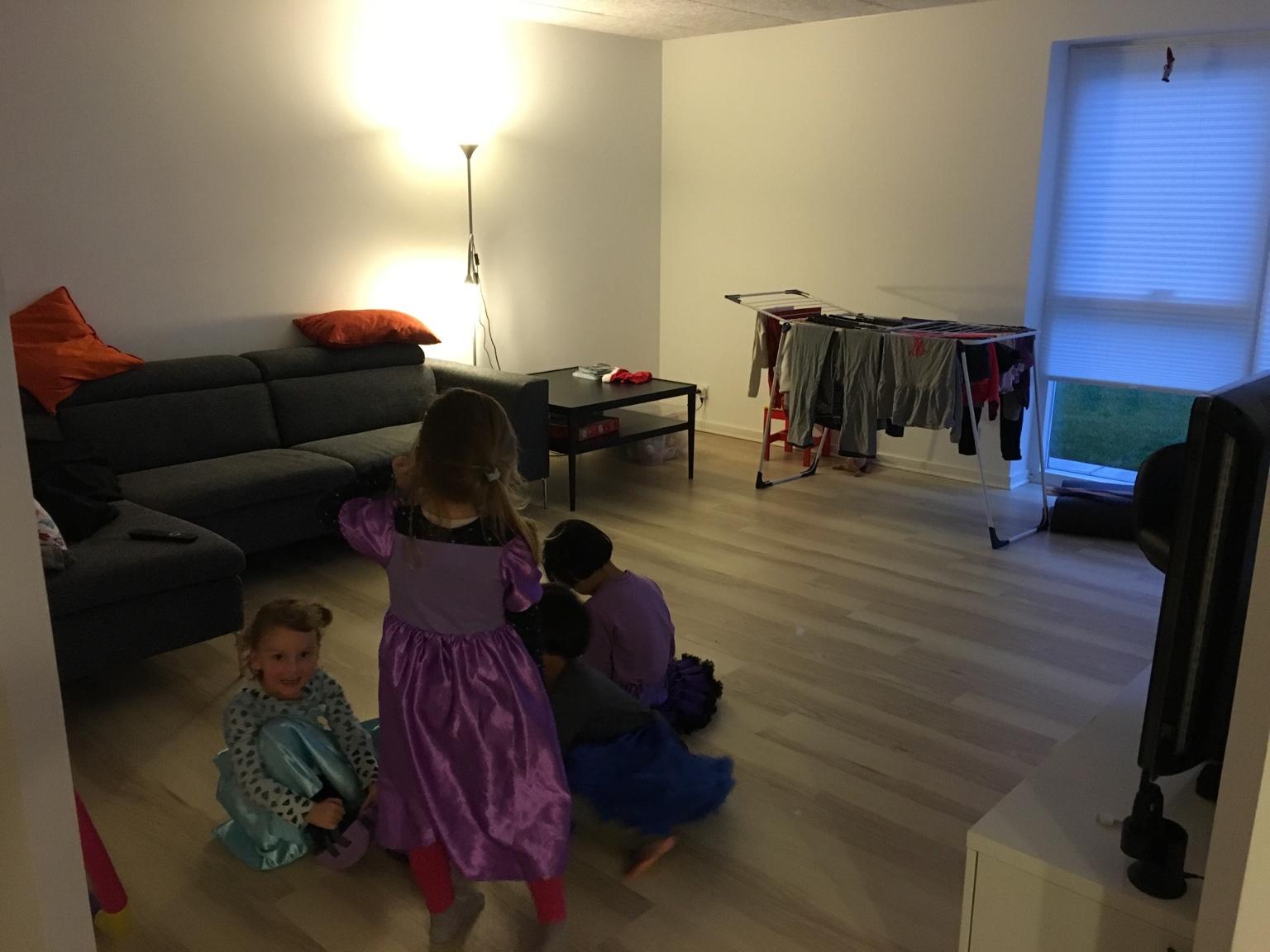 Ordentligt lys til stuen - Slyngebarn