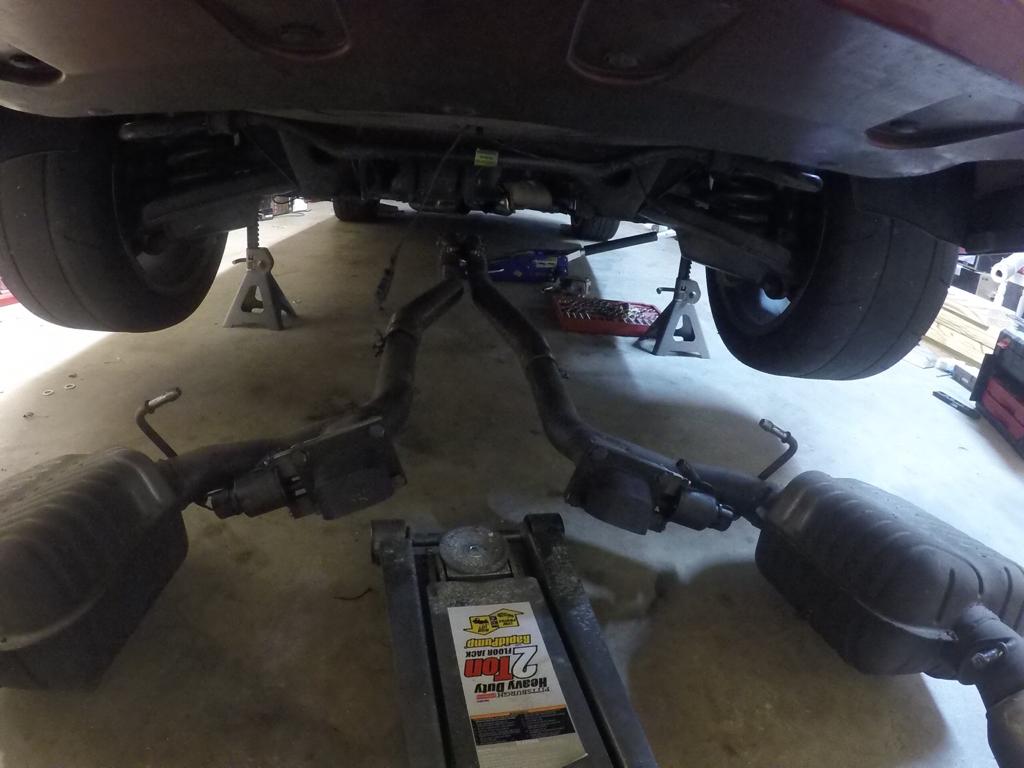 Rear Cradle Bushing R&R