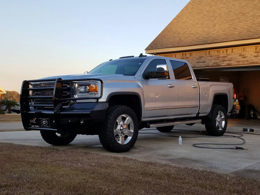 2011 gmc duramax chevy and gmc duramax diesel forum leveled 2015 thread why not topaz blue on. Black Bedroom Furniture Sets. Home Design Ideas