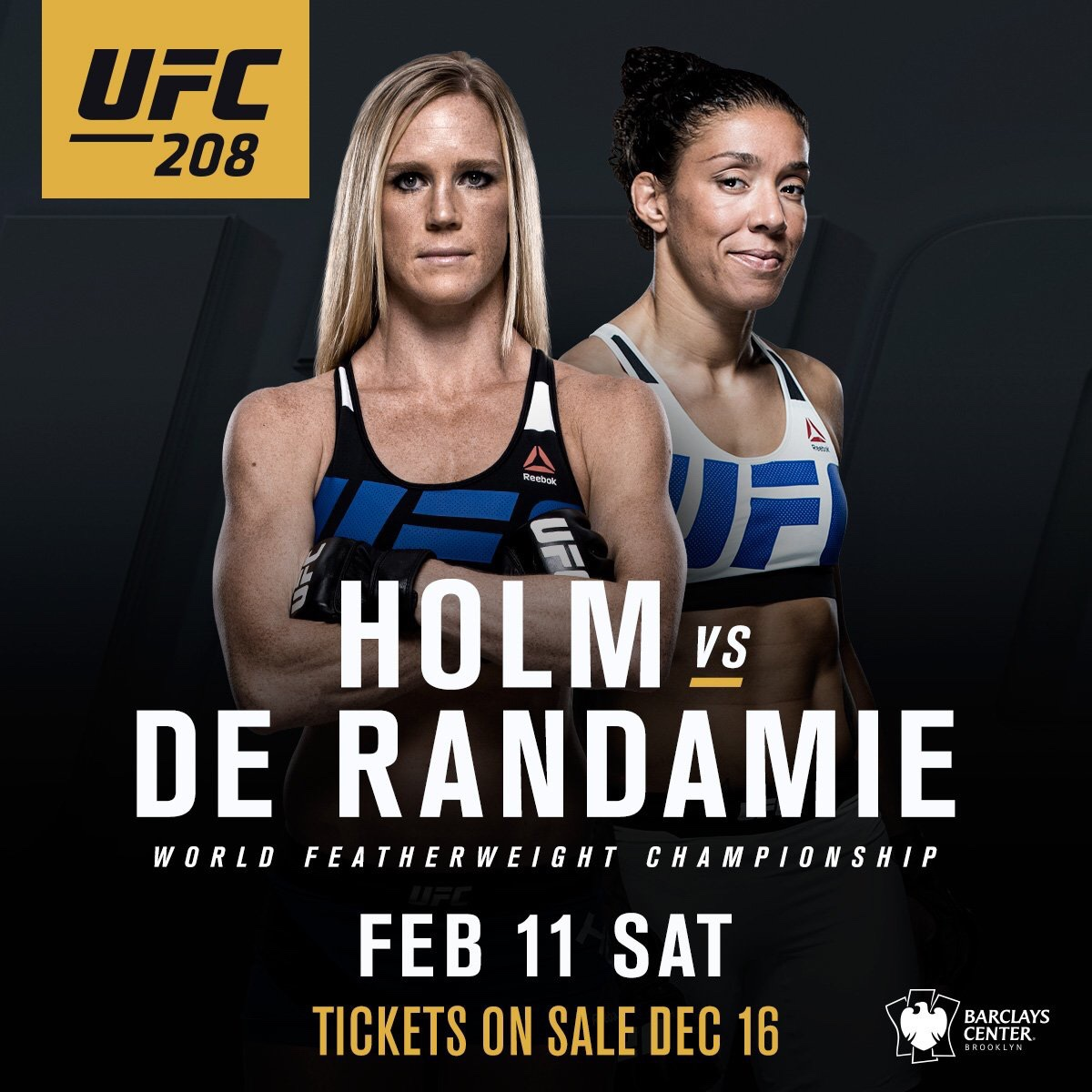 Image result for Germaine de Randamie vs Holly Holm