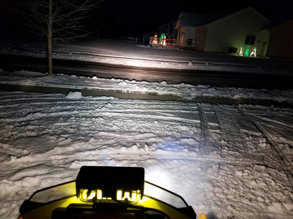 How To 6 Inch Led Light Bar On A Snowmobile Rev Xp Xs