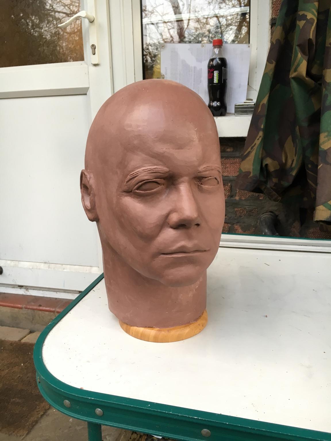 Another attempt at Captain Kirk Sculpt - Michael-Myers.net