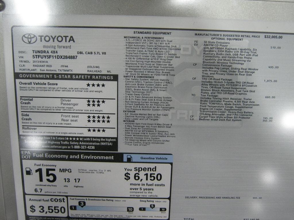 WIndow sticker lookup info - Dodge Cummins Diesel Forum