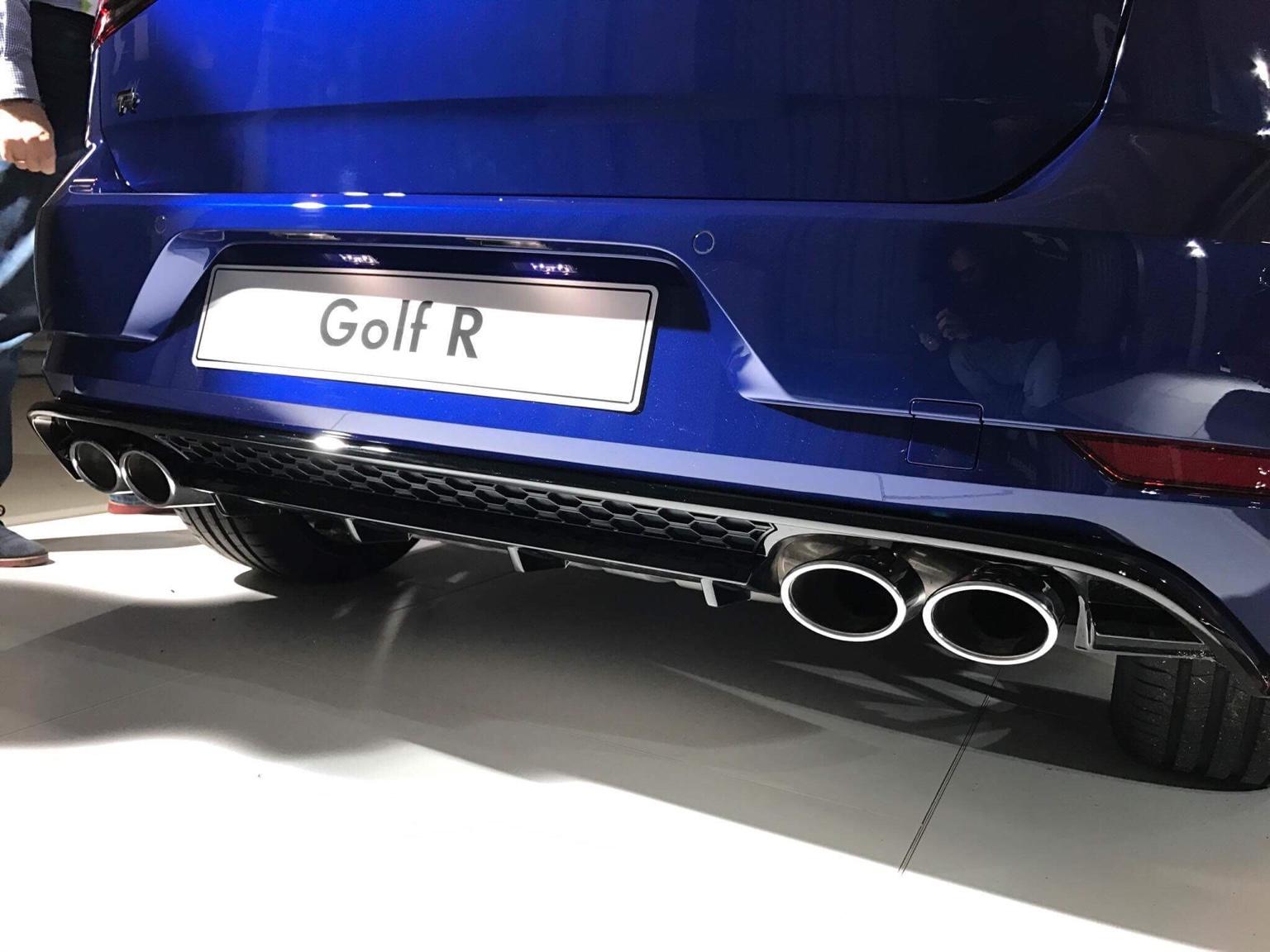 2017 Golf R facelift