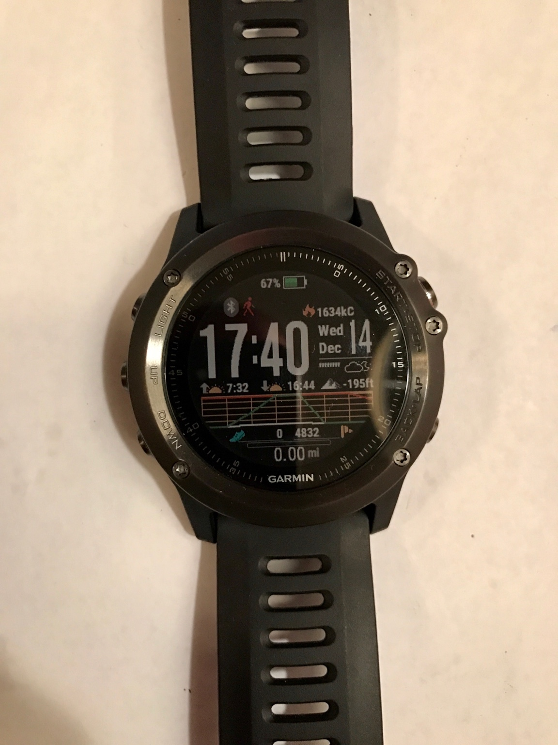 how to find a lost garmin watch