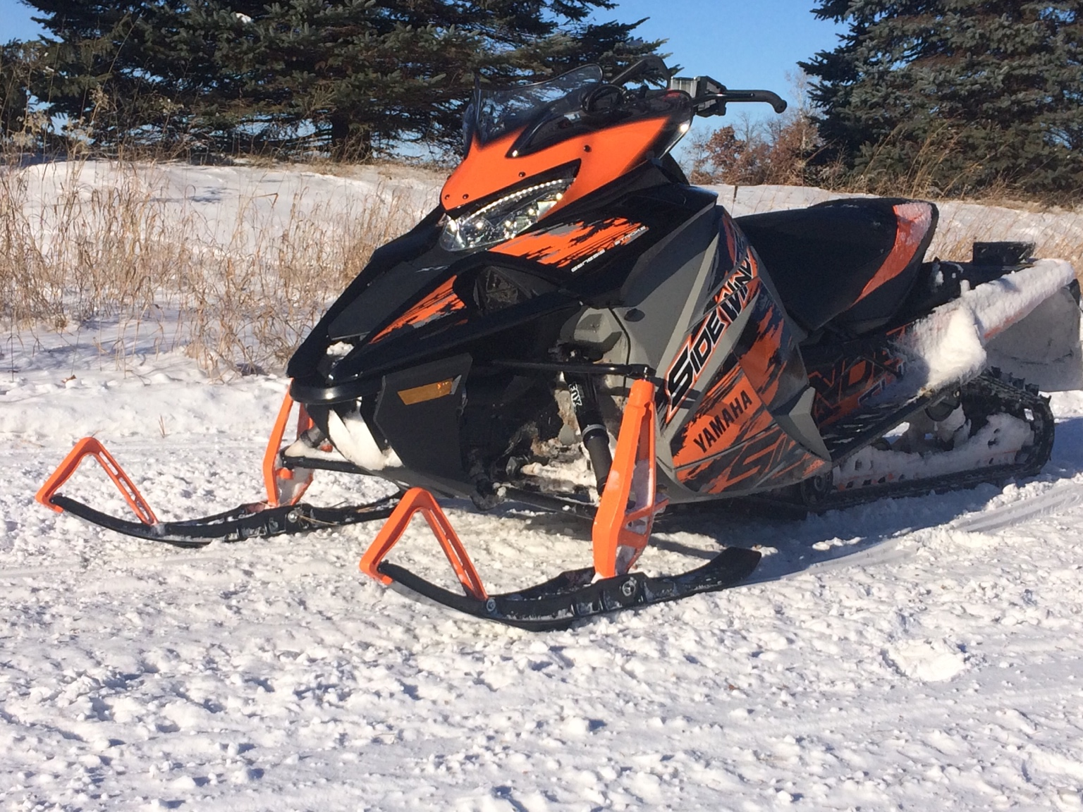 1st thoughts on my new sidewinder ty4stroke snowmobile for New yamaha snowmobile